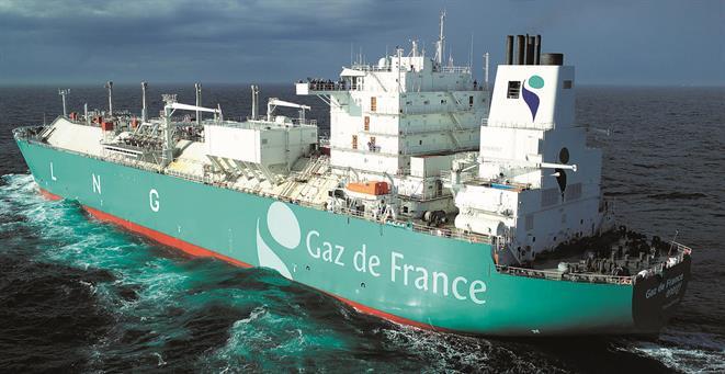LNG tanker GAZ DE FRANCE ENERGY