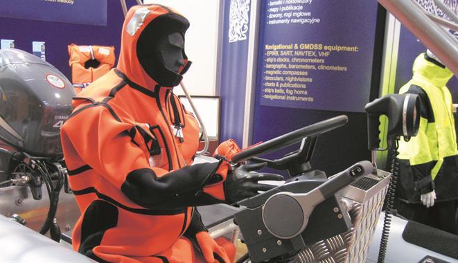 Immersion suit, also survival suit