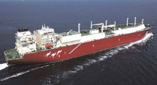 LNG tanker   661 x 357 jpeg 34kB