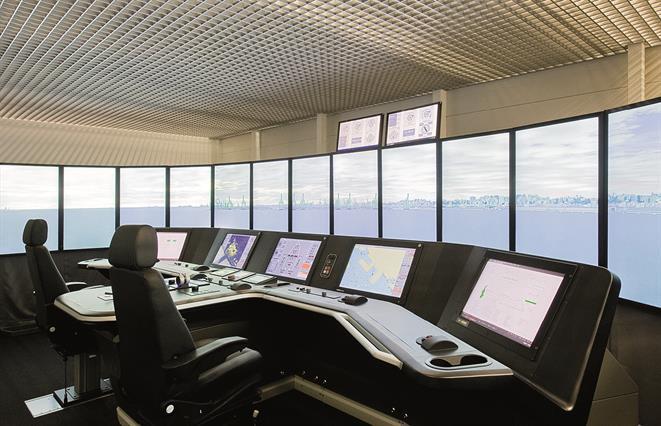 Navigating and manoeuvring workstation