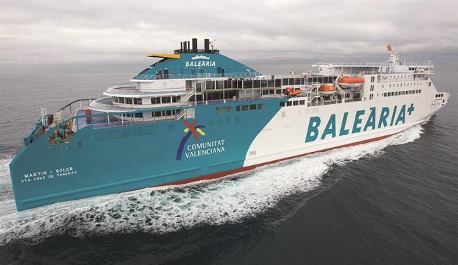 PaxCar ferry MARTIN i SOLER