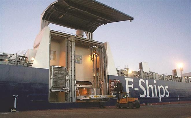 Ro-lo forest product carriers from Gdynia Shipyard