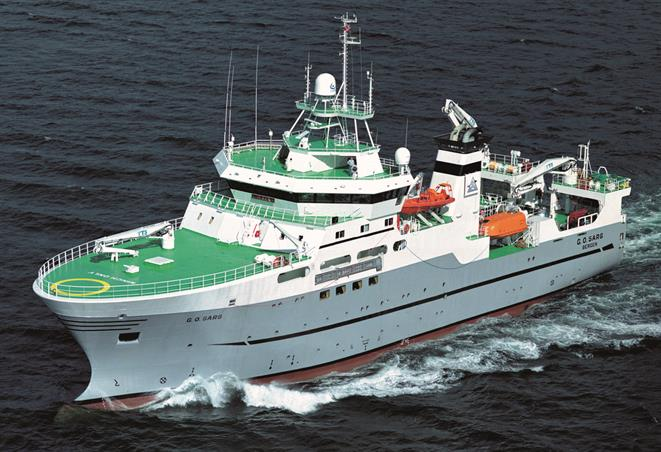 Fishery research vessel G.O. SARS