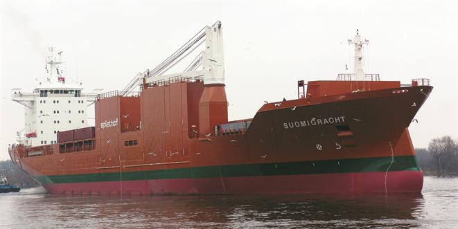Multi-purpose/forest product carrier SUOMIGRACHT