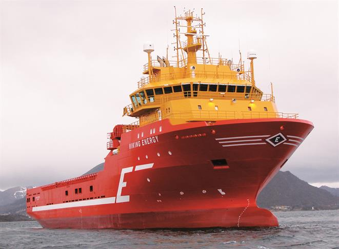 Platform supply vessel VIKING ENERGY