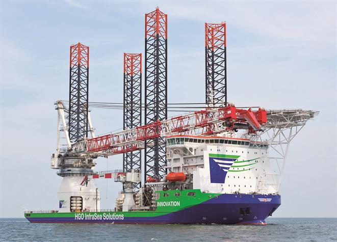Wind Turbine Installation Vessel Innovation