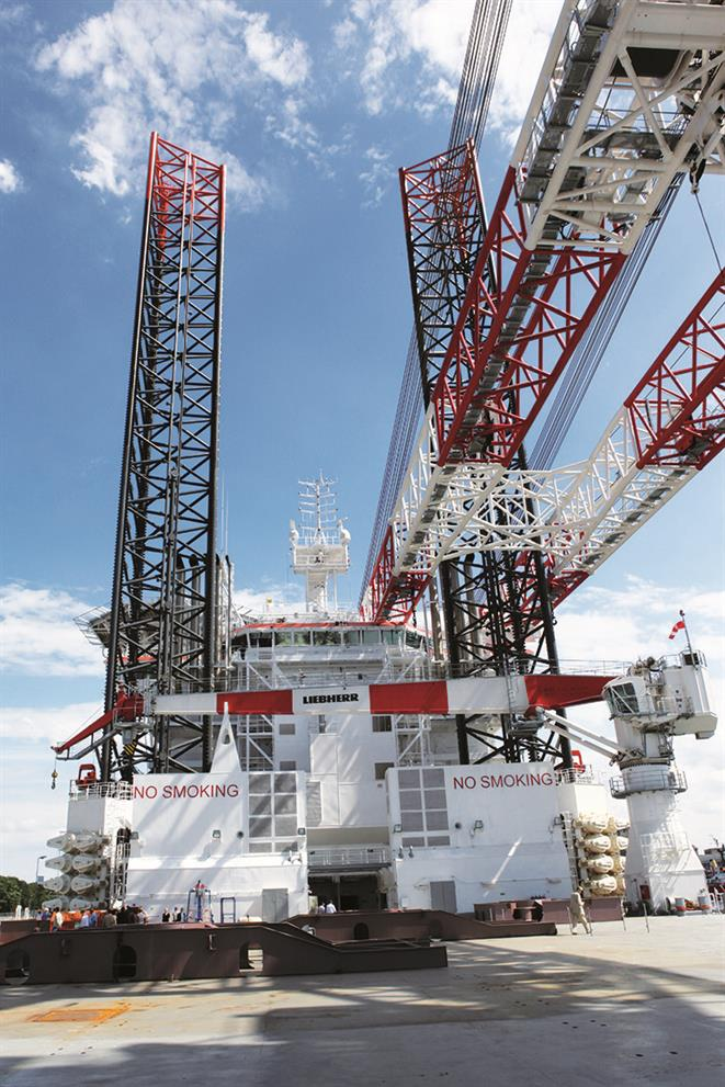 Wind Turbine Installation Vessel Innovation Tmb Width on Turbine Engine Monitoring System