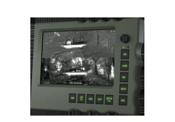 Monitor-with-key-panel-&-joystick