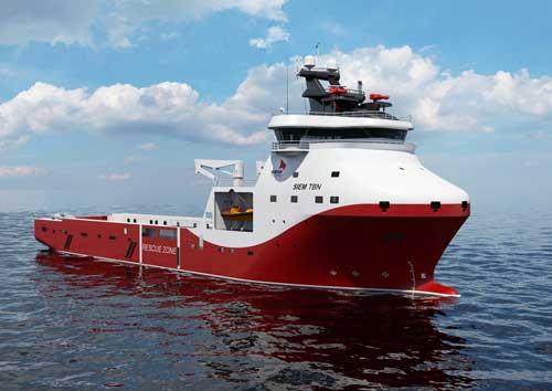 Siem Offshore's new platform supply vessel designed by Wärtsilä