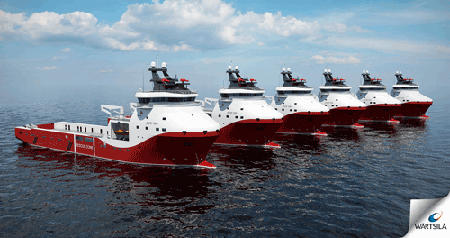Siem Offshore orders Wärtsilä's design and integrated solution for an additional four PSVs