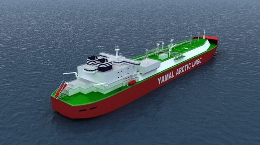 The icebreaking LNG carriers for the Yamal LNG project will be equipped with Wärtsilä 50DF dual-fuel engines.