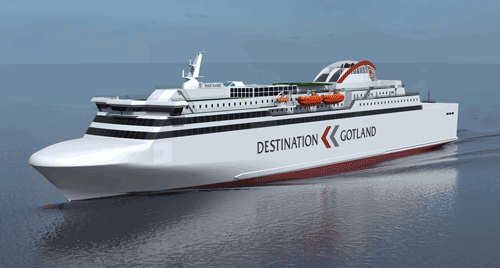 The LNG fuelled ferry will have a minimal environmental footprint.