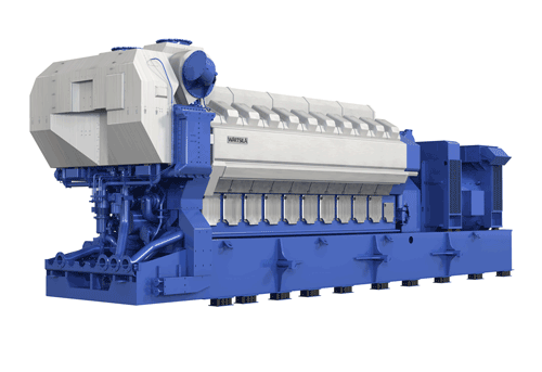 The new 20-cylinder Wärtsilä 32TS engine is optimised for extreme ambient conditions.