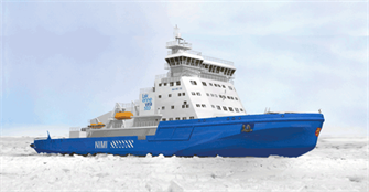 The new icebreaker built by Arctech Helsinki Shipyard for the Finnish Transport Agency and powered by Wärtsilä dual-fuel engines will be the most environmentally friendly icebreaker ever built
