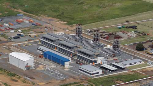 The Sasol Gas Engine Power Plant, supplied by Wärtsilä, is located in Sasolburg, south of Johannesburg in South Africa