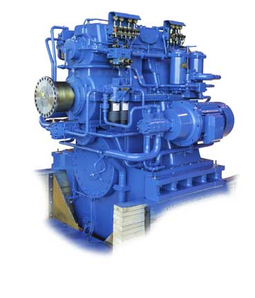 Wärtsilä's new 2-speed marine gearbox