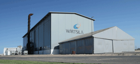 Wärtsilä's new manufacturing plant in Porto do Açu, Brazil