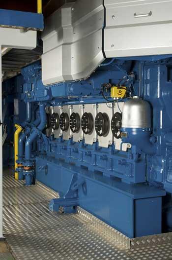 Wärtsilä 34DF engine