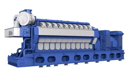 Wärtsilä 34SG engine