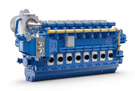 Wärtsilä 46DF engine