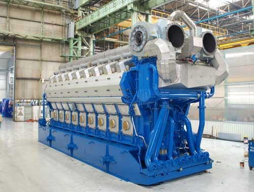 Wärtsilä 50DF engine