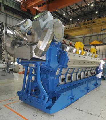 Wärtsilä 50SG engine