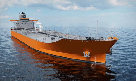 Wärtsilä Aframax tanker design