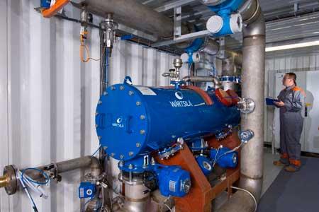 Wärtsilä AQUARIUS®UV ballast water management system