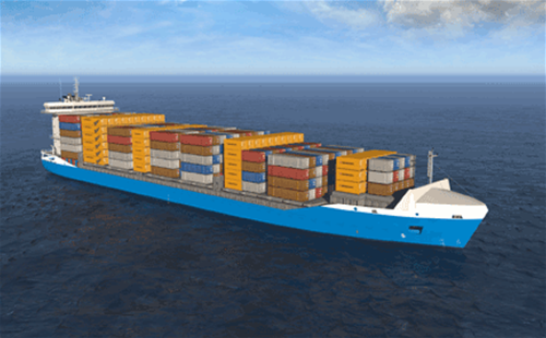 Wärtsilä low pressure dual-fuel engines chosen to power Container feeder vessels for Baltic sea operations