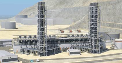Wärtsilä supplies a 120 MW Smart Power Generation power plant for island mode operations to Oman