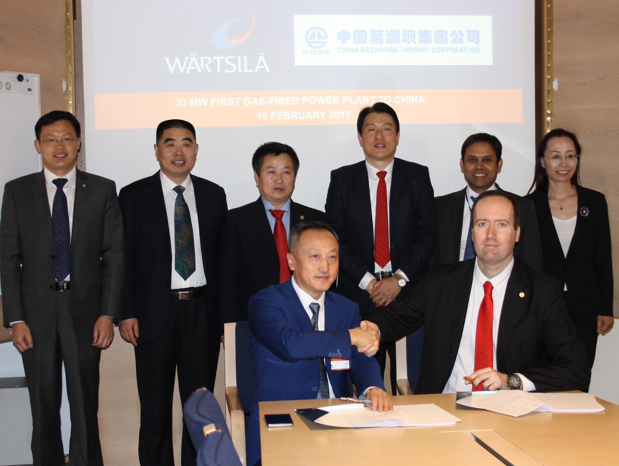 CGGC Power Plant Signing
