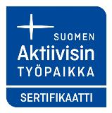 Suomen aktiivisin työpaikka sertifikaatti