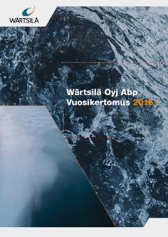 Wärtsilän vuosikertomus 2016
