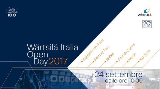 Wärtsilä Italia - Open day 2017