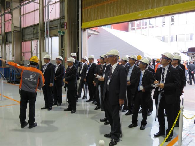 Wärtsilä Toyama Factory Tour 2