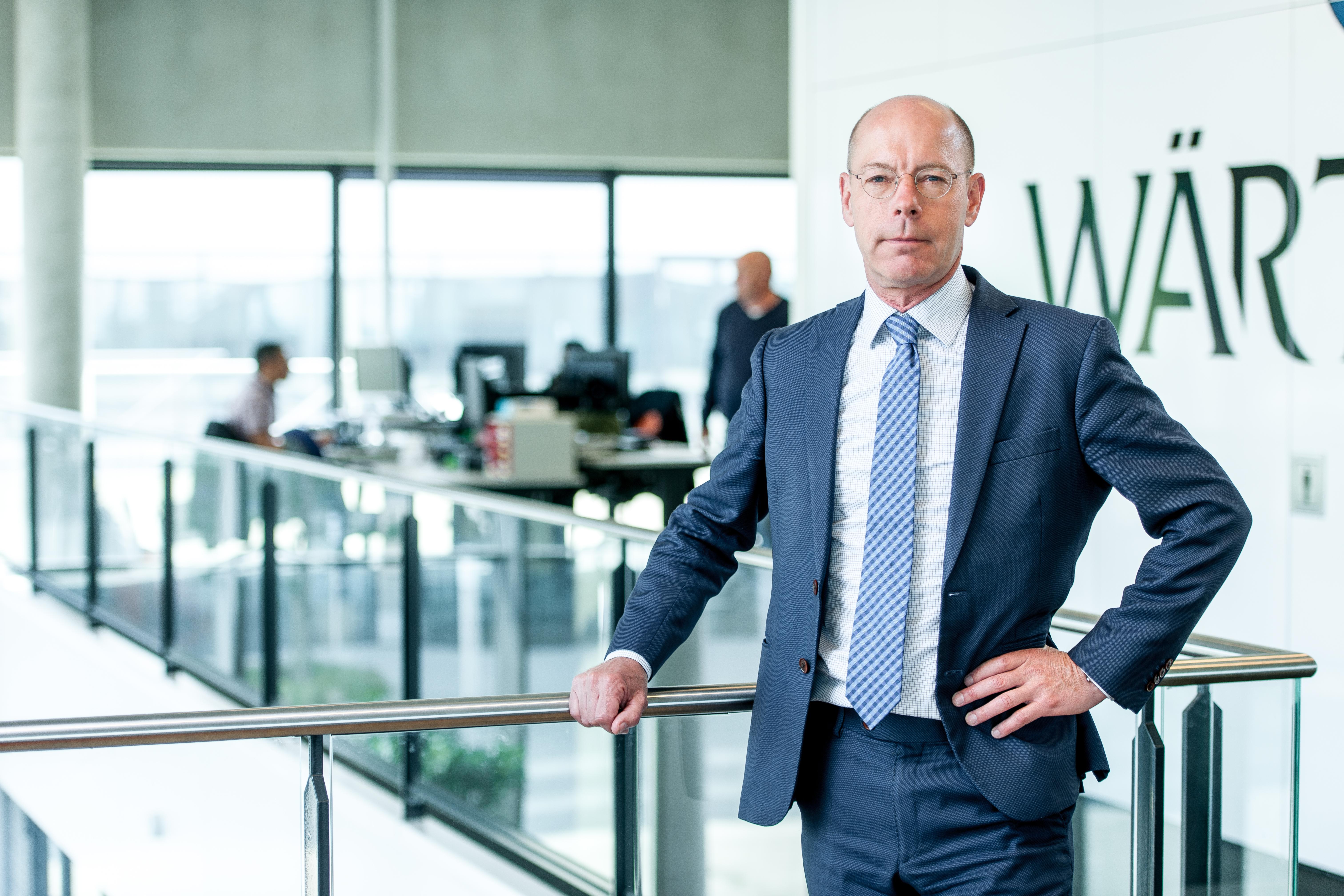 Henk de Jong, Directeur Wärtsilä Services Benelux