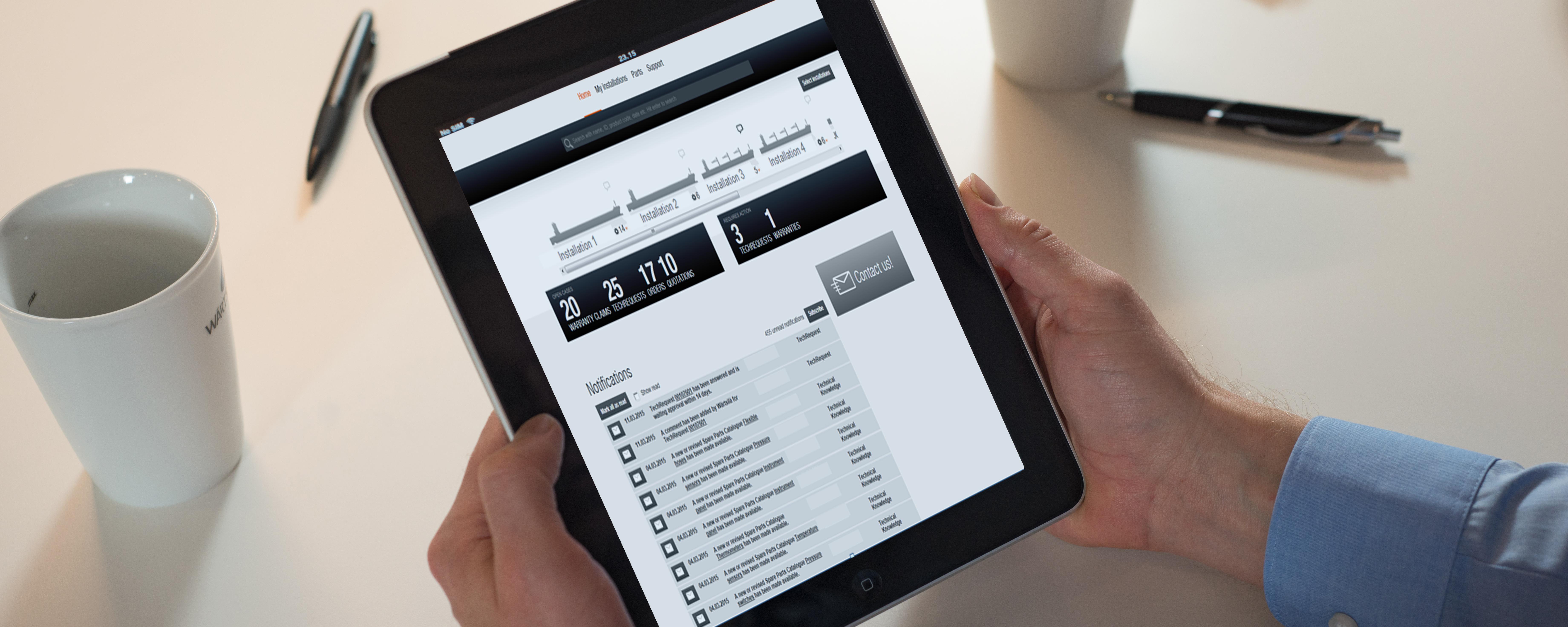 Wärtsilä Online Services
