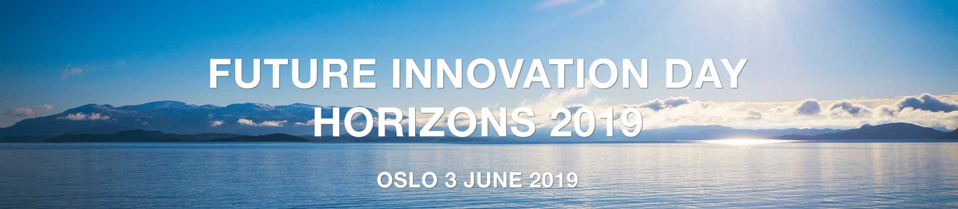 Future Innovation Day 2019 - Oslo