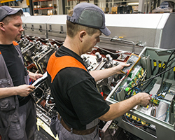 Electrical and Automation factory workers