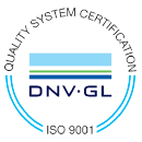 ISO9001 Ship-Design certificate Quality System Certification DNV GL