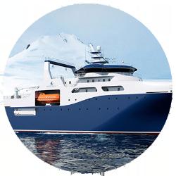 Stern trawlers Wärtsilä