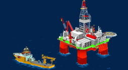 Offshore solutions illustration