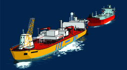 Shuttle Tanker FPSO illustration