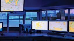 Ship traffic control system