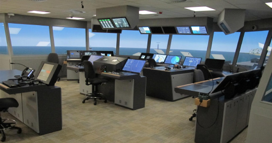 Navigation and bridge simulators