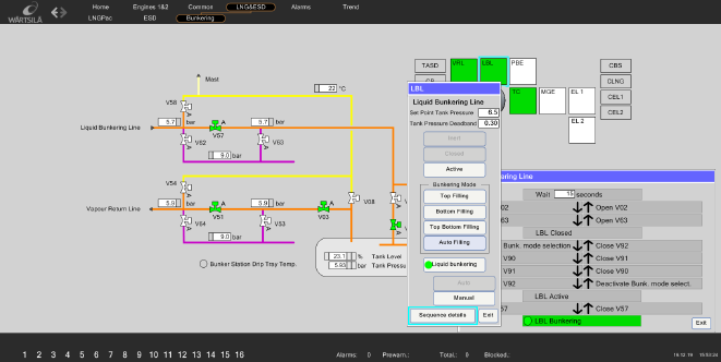 LNG Bunkering Fuel Supply System Simulator thumb