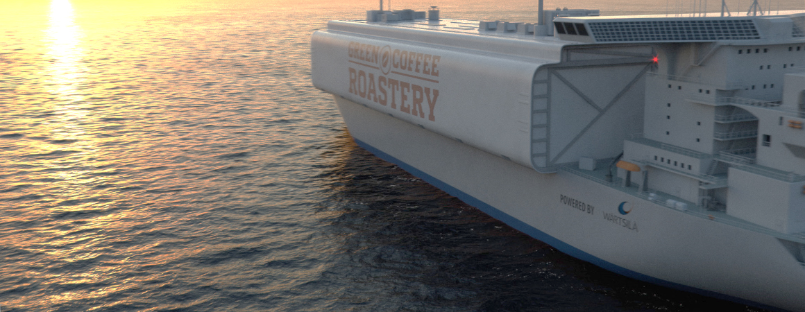 Future visions of shipping - Manufacturing en route