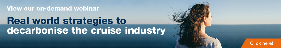 On demand Webinar Cruise banner
