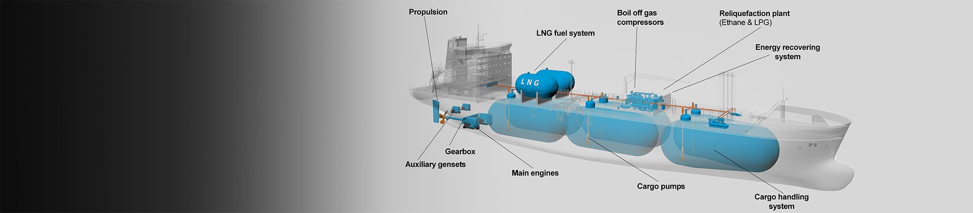 Gas carrier solutions