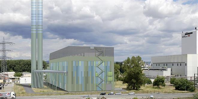 Kraftwerke Mainz-Wiesbaden AG Power Plant - Germany